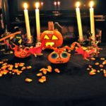 Wystrój imprezy halloweenowej