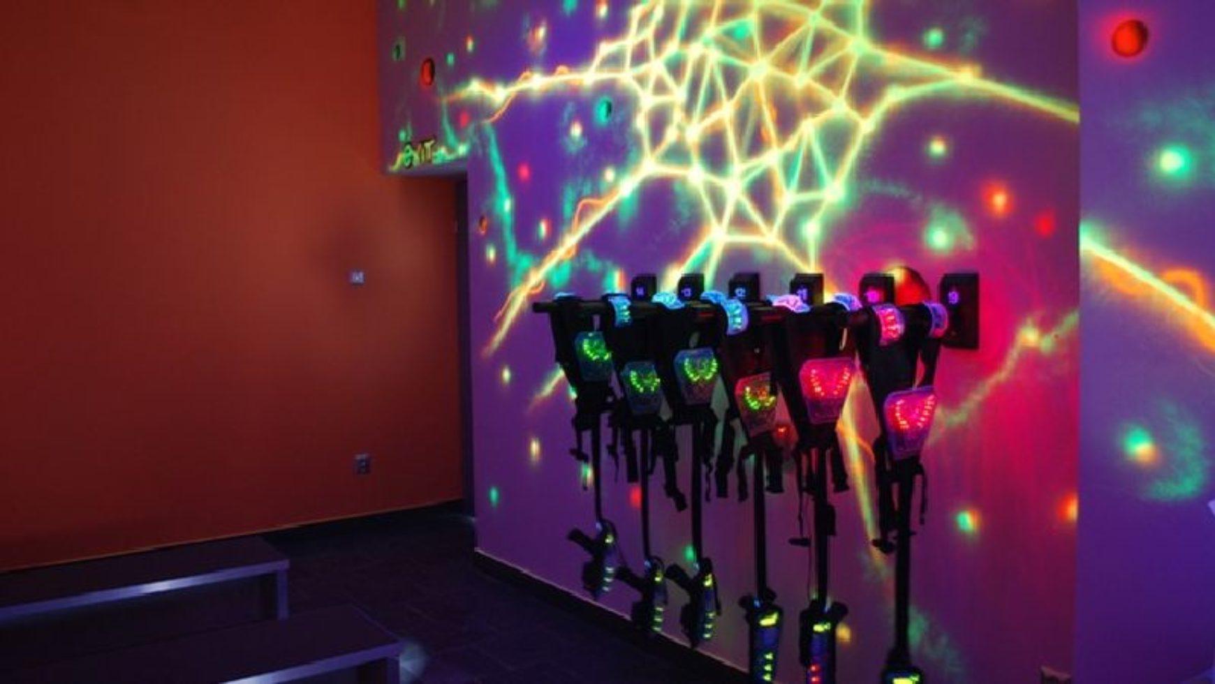 Eventowa atrakcja – paintball laserowy
