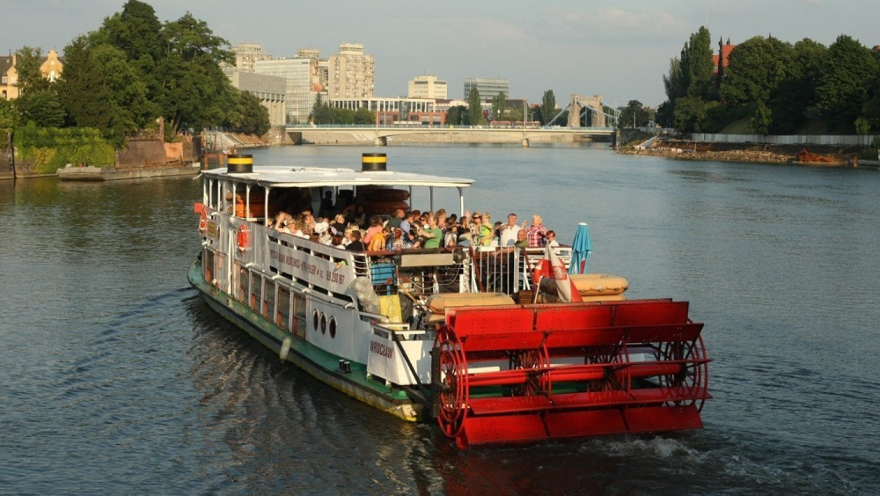 Rejs z atrakcjami po Odrze we Wrocławiu